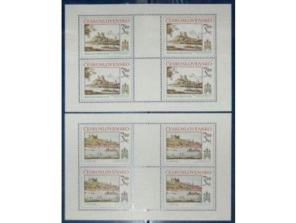 1979, 3-3.60Kčs PL - Bratislavské motivy, Nr.PL2410-11, **