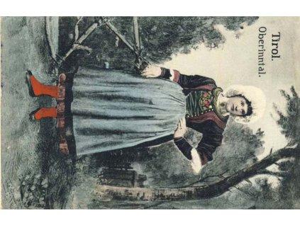 No.579 + útvarové, pohlednice zaslaná v roce 1918