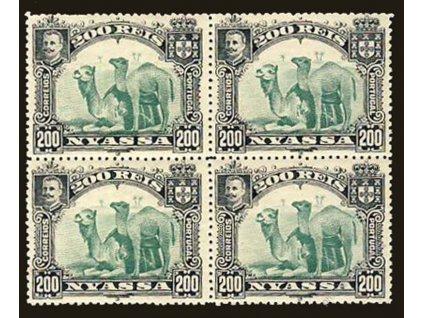 Portugalská Nyassa, 1901, 200R Velbloud, **