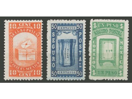 Panama, 1935, 10C-1P Zuschlagsmarken, MiNr.1-3, **