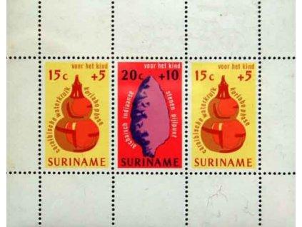 Surinam, 1975, aršík, MiNr.Bl.15, **
