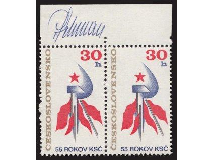 Schurmann, 1976, podpis na známkách, **