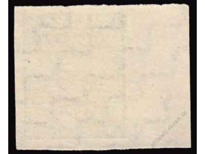 West-Sachsen, 1945, 5Pf zelená, MiNr.117Y, **