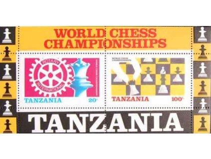 Tanzanie, 1986, aršík, MiNr.Bl.54, **