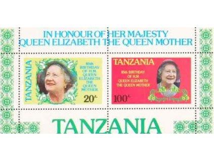 Tanzanie, 1985, aršík, MiNr.Bl.42, **