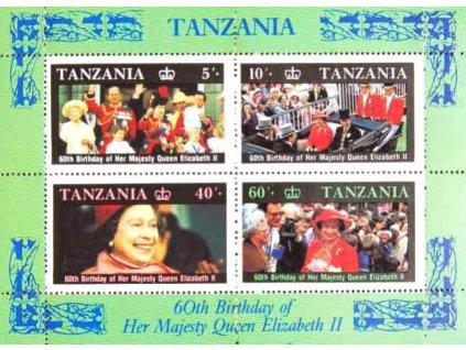 Tanzanie, 1987, aršík, MiNr.Bl.64, **