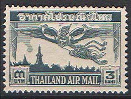 Thajsko, 1952, 3B letecká, MiNr.301, **