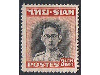 Thajsko, 1947, 3B Bhumibol Aduljadeh, **