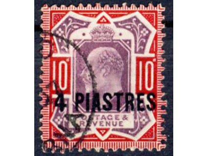 Turecko, 1902, 4Pia/10P Eduard, Nr.10, razítkované