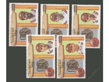Trinidad a Tobago, 1988, 30C-2.50Dolaru série Sport, **
