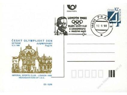 1998, Český olympijský den, DR Praha 12.9.98
