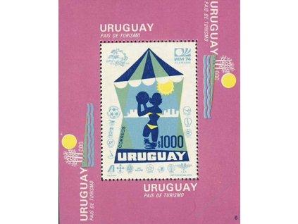 Uruguay, 1974, aršík, MiNr.Bl.20, **