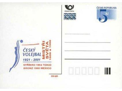 2001, Český volejbal 1921-2001