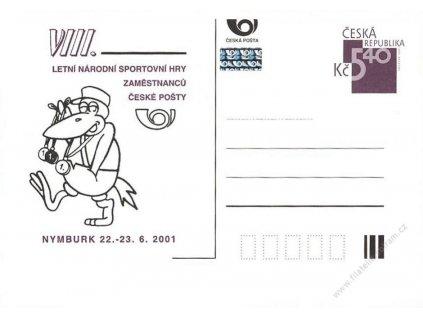 2001, Letní sportovní hry zaměstnanců České pošty