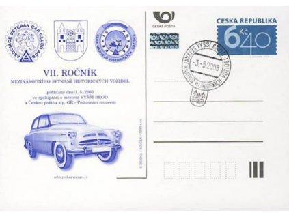 2003, VII. Ročník historických vozidel, PR 3.5.03, dv