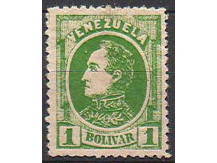 Venezuela, 1880, 1B Bolívar, vada, těžší *