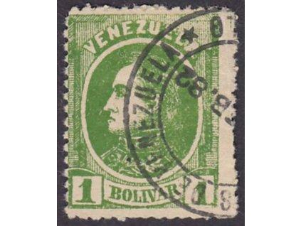 Venezuela, 1880, 1Bolivar, MiNr.27, razítkované, dv