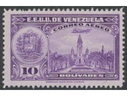 Venezuela, 1938, 10B letecká, MiNr.283, ** , kz