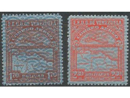 Venezuela, 1932, 1.70 a 2.30B letecké, **
