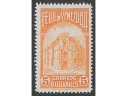 Venezuela, 1947, 5B Hlavní pošta, MiNr.476, **