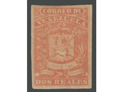 Venezuela, 1859, 2R Znak, MiNr.3, těžší *