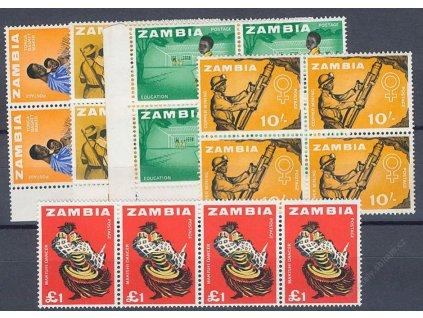 Zambia, 1964, 2Sh-1Libra Výjevy, **
