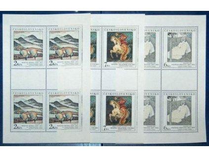 1988, 2-7Kčs PL - Umění, Nr.2870-72, **