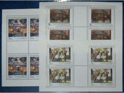 1989, 2-5Kčs PL - Umění, Nr.PL2917-19, **