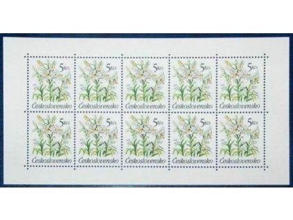 1990, 5Kčs Zahradní květiny, Nr.PL2933 **