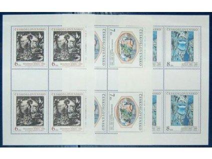 1992, 6-8Kčs PL-Umění, Nr.PL3025-27, **