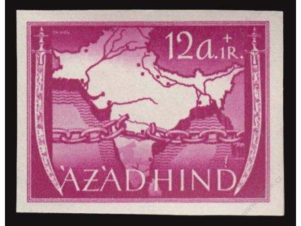 Azad Hind, 1943, 12A Výjev, MiNr.VIB, **