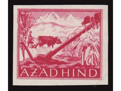 Azad Hind, 1943, 1A Výjev, MiNr.IXB, **