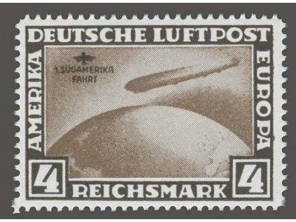 1930, 4M 1. Süd-amerika-Fahrt, novotisk, MiNr.439, **