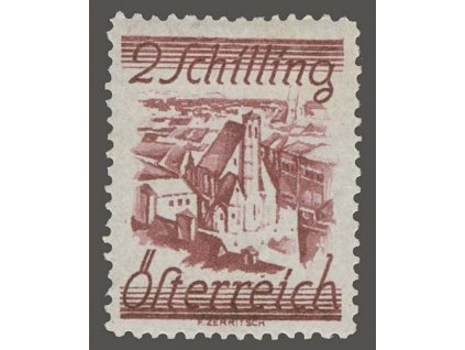 1925, 2S Vídeň, MiNr.467, * po nálepce