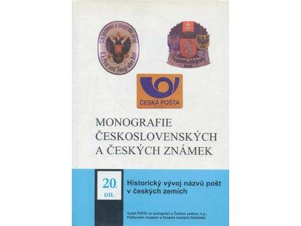 Monografie 20 - Historický vývoj názvů pošt v českých zemích