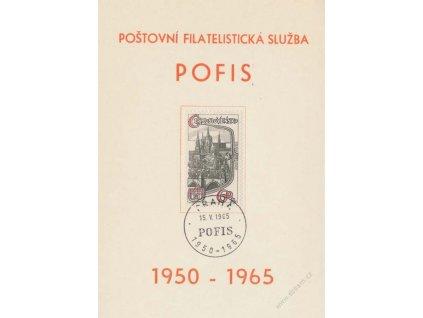 Pofis, Praha, pamětní list, 1965
