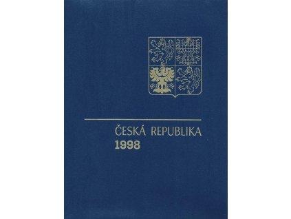 1998, RA 6 ročníkové album 1998 s PTR, katalog 3300Kč