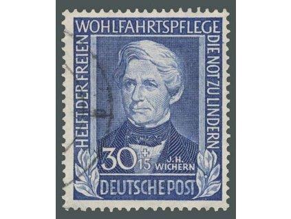 1949, 30Pf Osobnosti, MiNr.120, razítkované