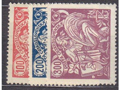 100-300h HaV II, Nr.173-5, nejlevnější varianta, * po nálepce, ilustrační foto