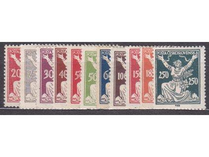 20-250h série, Nr.251-261, * po nálepce, ilustrační foto