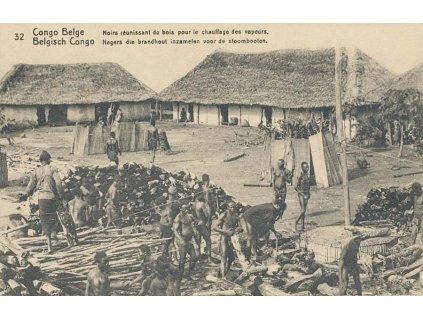 Kongo, DR Matadi, celinová pohlednice 10C, neprošlé 1920