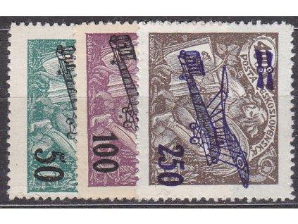 50-250h Letecké II, série, Nr.L4-6, * po nálepce