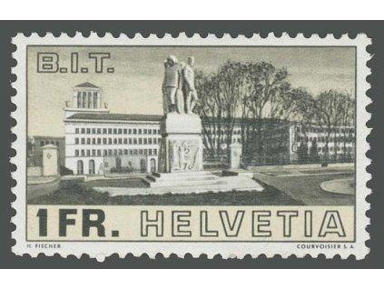 1938, 1 Fr ILO, MiNr.324, **