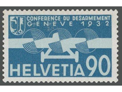 1932, 90 C letecká, MiNr.258, **