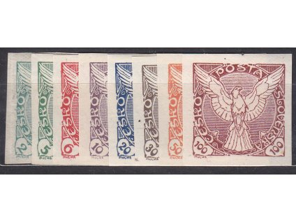 1918, 2-100h série, Nr.NV1-8, * po nálepce