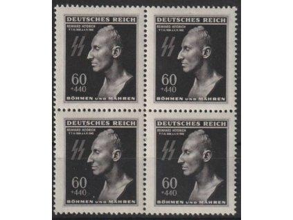 1943, 60h Heydrich, 4blok, Nr.111, **
