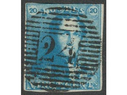 1849, 20C Leopold, MiNr.2, razítkované