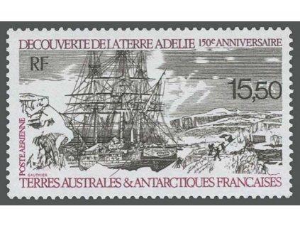 Antarktidské území, 1990, 15.50Fr letecká, MiNr.267, **