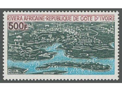 D´ivoire, 1971, 500Fr letecká, MiNr.386, **