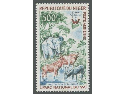 Niger, 1960, 500Fr letecká, MiNr.13, **